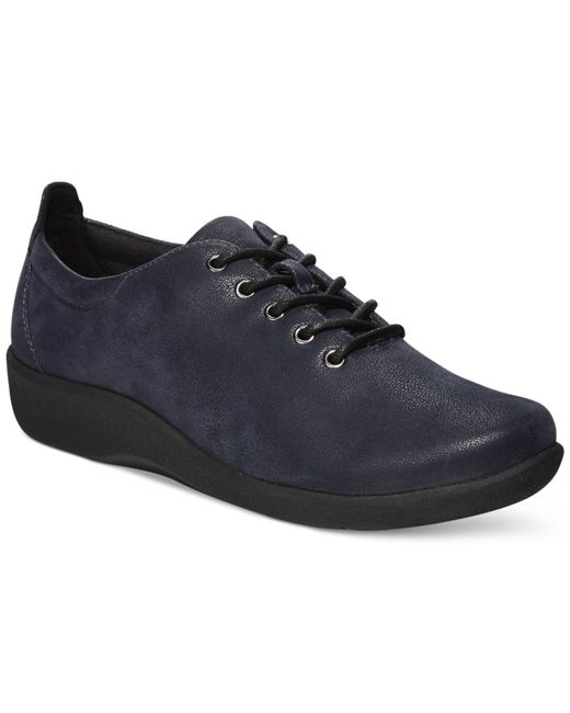 Clarks | Blue Collection Women's Cloud Steppers Sillian Tino Sneakers | Lyst