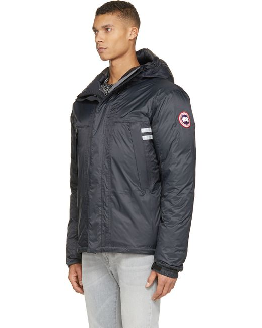 Canada Goose parka replica authentic - Canada goose Black Mountaineer Down Jacket in Black for Men | Lyst