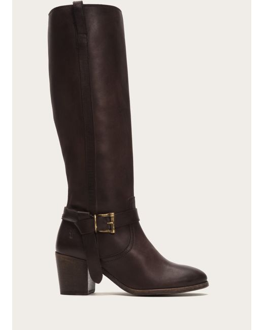 Frye | Brown Malorie Knotted Tall | Lyst