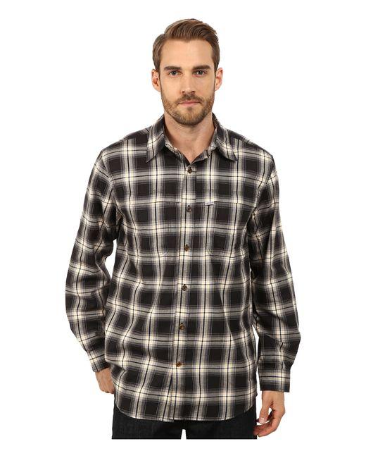 Carhartt | Black Force Reydell Long Sleeve Shirt for Men | Lyst