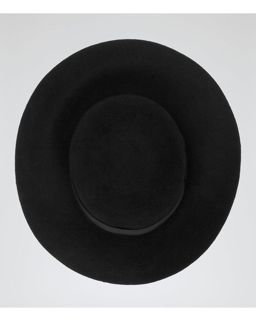 Reiss | Black Andrea Wool Floppy Hat | Lyst