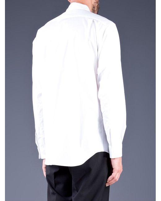Comme des Garçons | Black Classic Collar Button Down for Men | Lyst