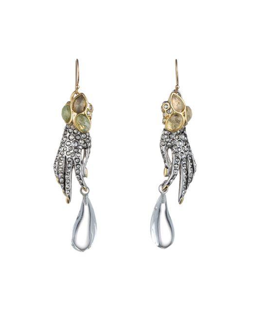 Alexis Bittar | Metallic Jardin Mystã¨re Jeweled Hand Earring You Might Also Like | Lyst