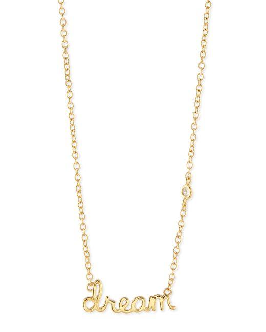Shy By Sydney Evan   Metallic Treble Clef Necklace   Lyst