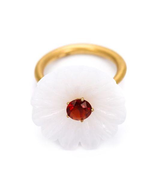Marie-hélène De Taillac | White Floral Ring | Lyst