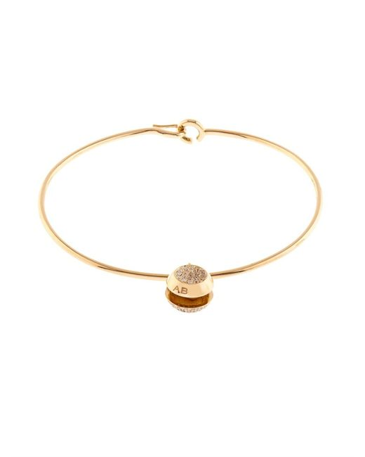 Aurelie Bidermann | Metallic Diamond & Yellow-Gold Bracelet | Lyst
