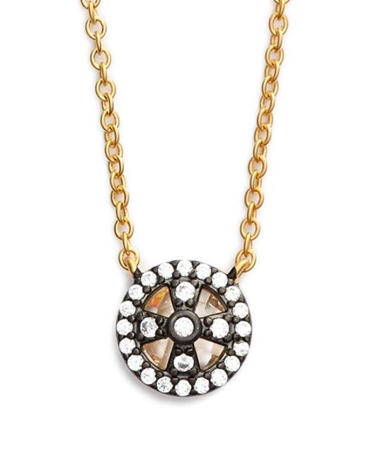 Freida Rothman | Metallic 'metropolitan' Small Pendant Necklace | Lyst