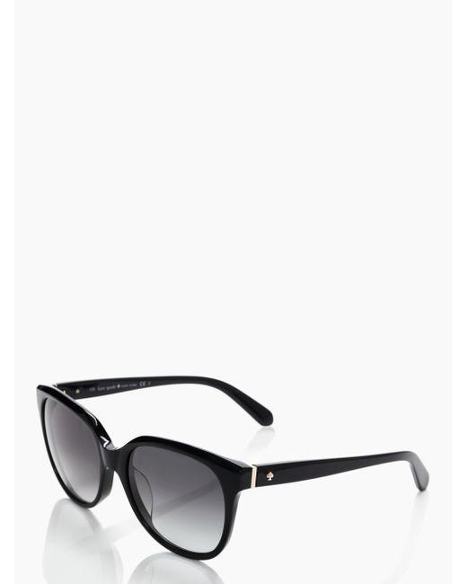 kate spade new york | Black Bayleigh Sunglasses | Lyst
