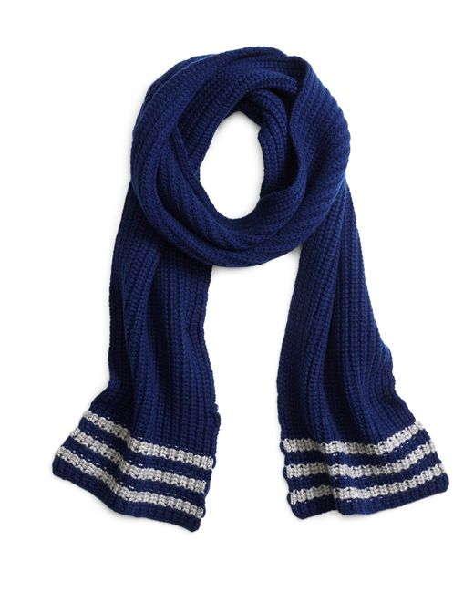 Brooks Brothers | Blue Tipped Cashmere Knit Scarf for Men | Lyst