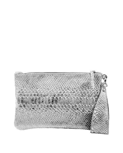 Linea Pelle | Metallic Clutch | Lyst