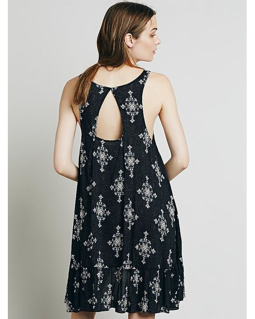 Free People | Black Into You Slip Dress | Lyst