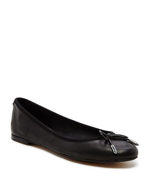 Dolce Vita   Black Brae Leather Ballet Flats   Lyst