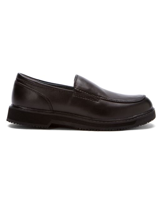 propet s maxigrip slip on work shoes in black lyst