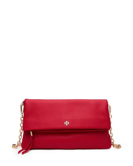 Tory Burch | Red Fold-over Cross-body | Lyst