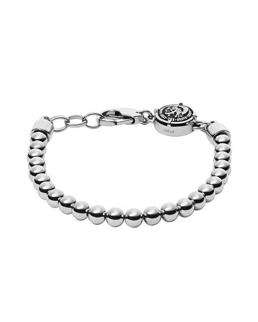 DIESEL | Metallic Bracelet for Men | Lyst