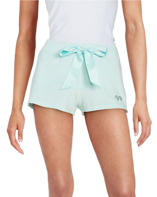 Betsey johnson Baby Terry Cloth Shorts in Blue Save