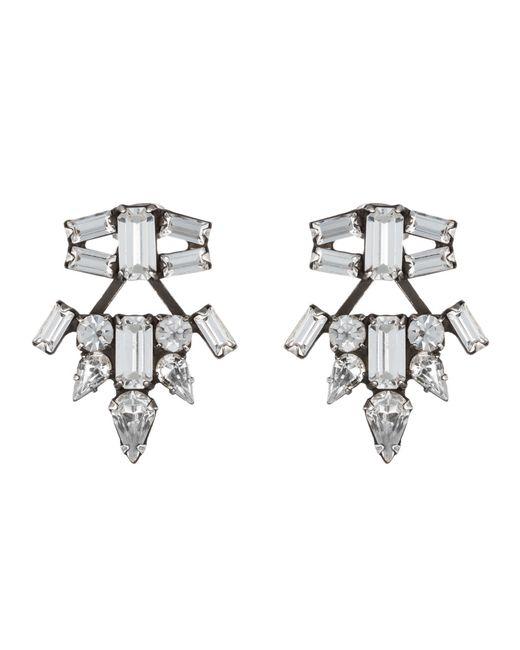 DANNIJO | Metallic Evalise Earrings | Lyst
