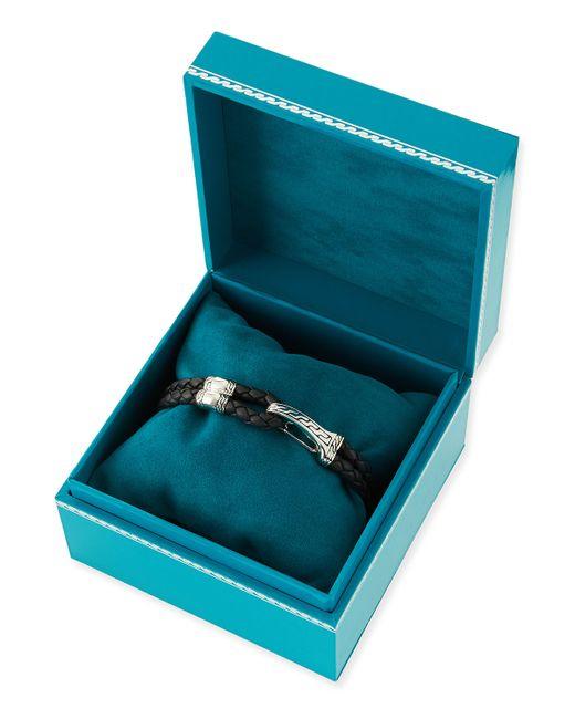 John Hardy | Gray Classic Chain Hook-station Bracelet for Men | Lyst