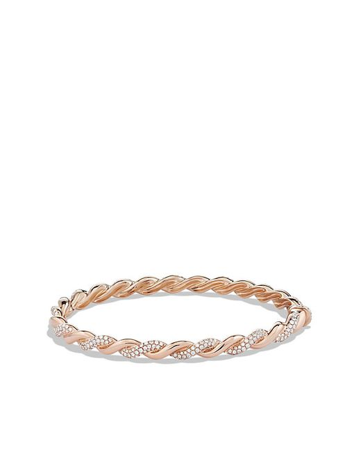 David Yurman | Pink Wisteria Bracelet With Diamonds In Rose Gold | Lyst