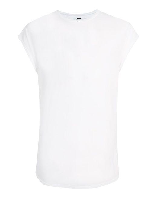 TOPMAN | White Philly Cap Sleeve T-shirt for Men | Lyst