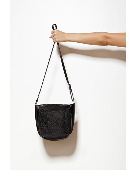 Forever 21 | Black Collina By Collina Strada Cora Leather Crossbody | Lyst