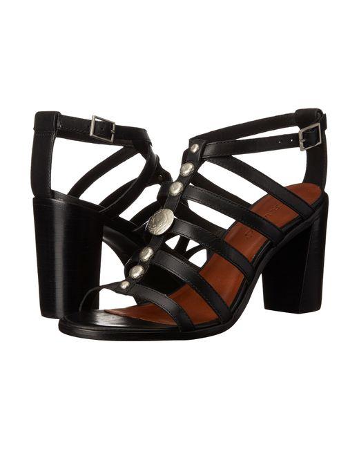 Bernardo | Black Hannah Leather Sandal | Lyst