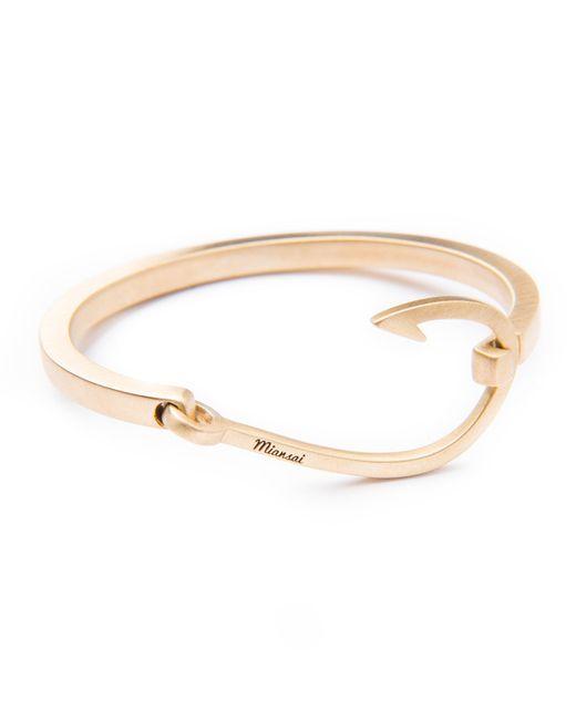 Miansai | Pink Hook Cuff Bracelet | Lyst