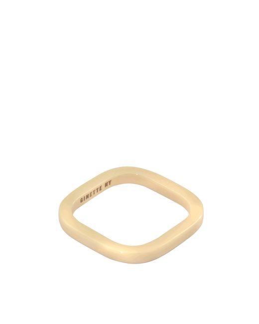 Ginette NY   Metallic Ivory Ceramic Tv Ring   Lyst
