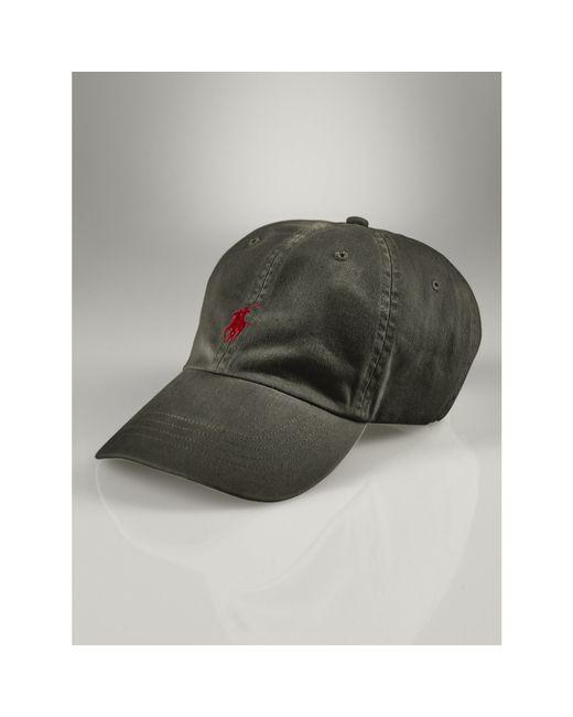 Polo Ralph Lauren | Black Signature Pony Hat for Men | Lyst