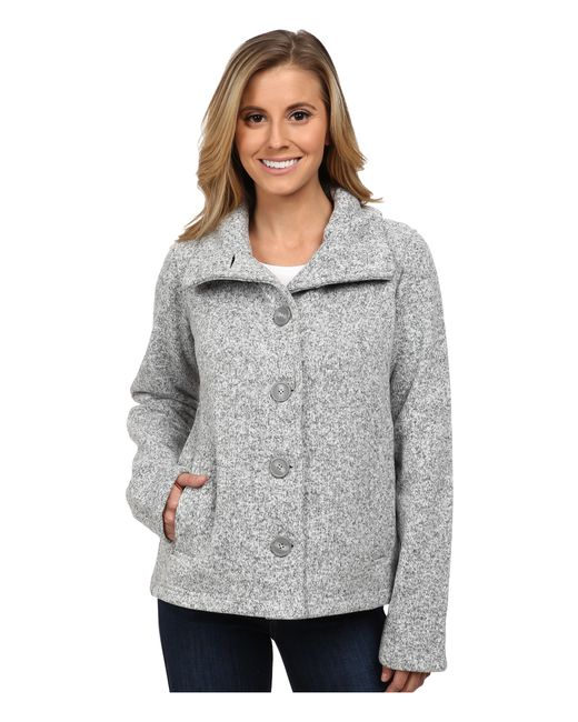 Patagonia | Gray Better Sweater Swing Jacket | Lyst