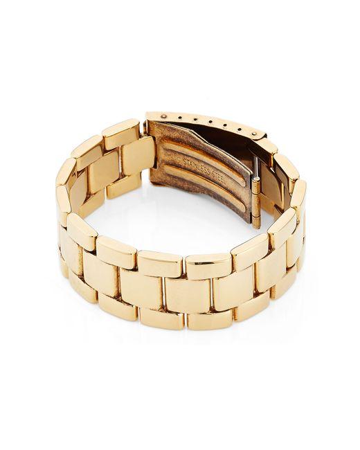 Agnona | Metallic Bracelet - Gold | Lyst