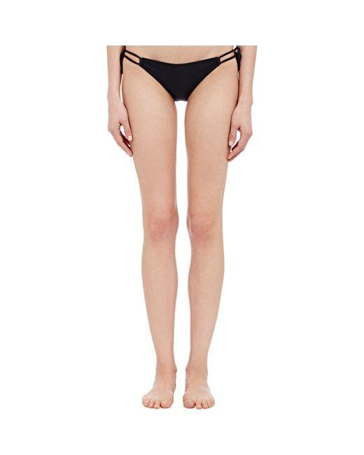 Yasmine Eslami | Black String Bikini Bottom | Lyst