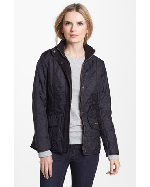 Barbour | Black 'cavalry' Quilted Jacket | Lyst