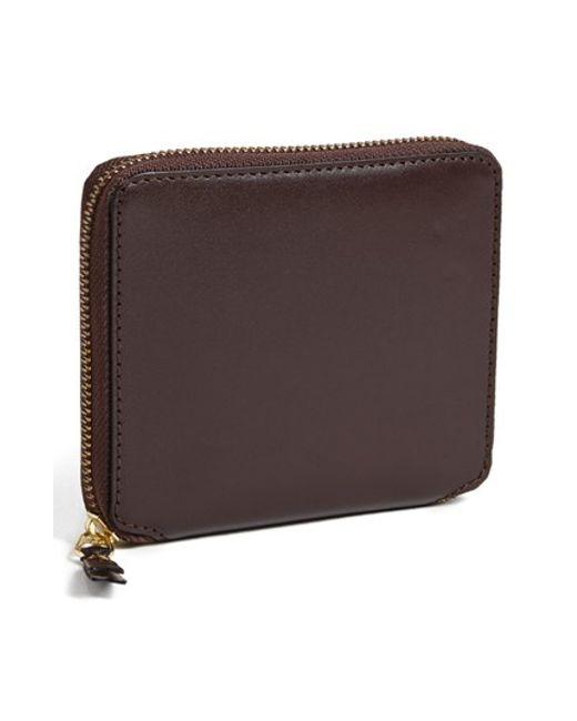 Comme des Garçons | Brown 'classic' French Wallet for Men | Lyst