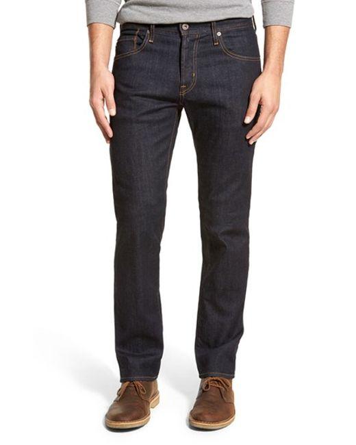 AG Jeans | Black Jeans 'matchbox' Slim Fit Jeans for Men | Lyst