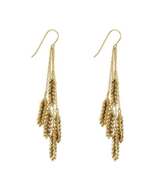 Aurelie Bidermann | Metallic Aurélie Bidermann 18kt Gold Plated Earrings | Lyst