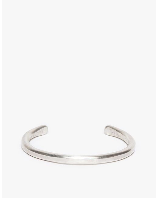 Cause and Effect | Metallic Silver Bar Cuff for Men | Lyst