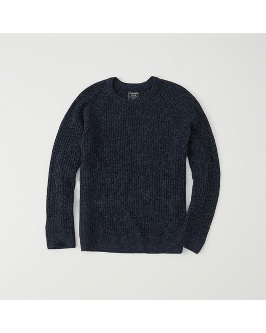 Abercrombie & fitch Shaker Crewneck Sweater Exchange Color / Size ...