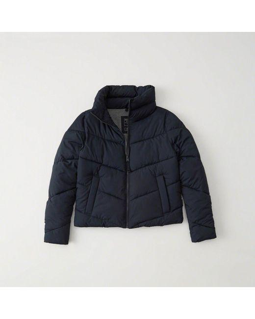Abercrombie & Fitch - Blue Ultra Mini Puffer - Lyst