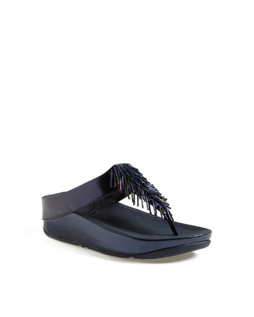 Fitflop | Blue (tm) 'cha Cha' Flip Flop | Lyst