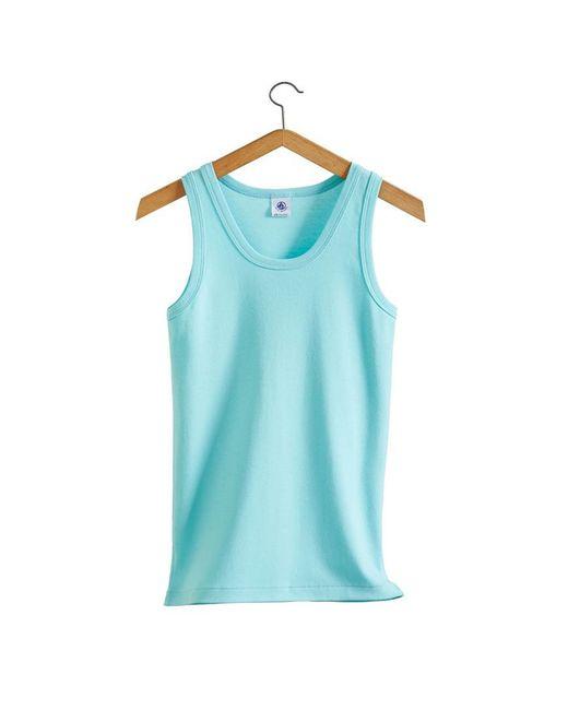 Petit Bateau | Blue The Essential Women's Tank Top In Vintage Cotton | Lyst