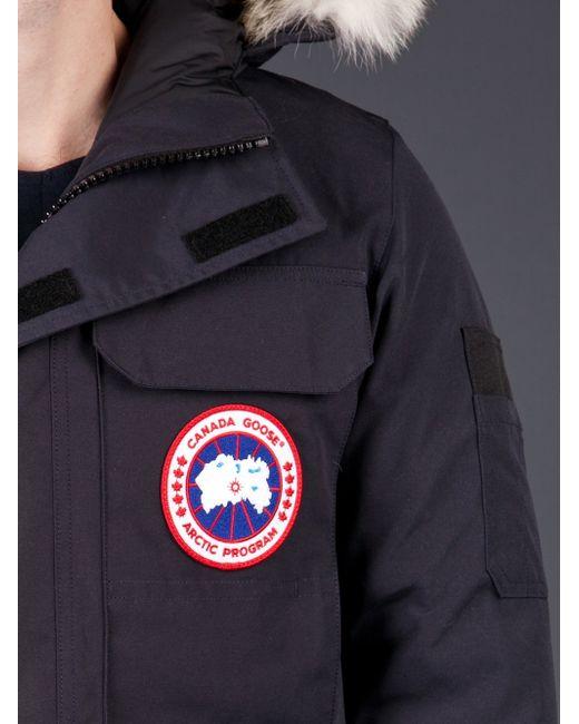 Canada Goose parka online official - Canada goose Citadel Parka in Blue for Men (navy)   Lyst