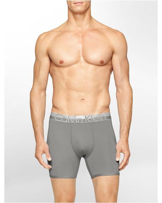 Calvin Klein | Gray Underwear Magnetic Force Micro Boxer Brief for Men | Lyst
