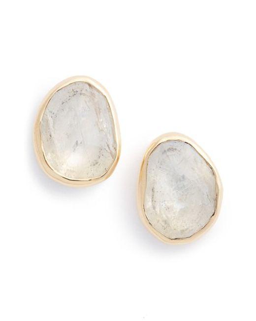 Melissa Joy Manning | Yellow Moonstone Earrings | Lyst