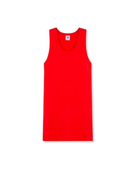 Petit Bateau | Red Women's Iconic Cotton Vest Top | Lyst