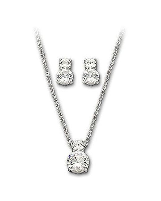 Swarovski | Metallic Brilliance Set | Lyst