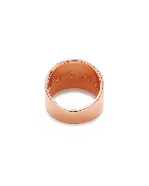 J.Crew | Pink Gabriella Artigas 14k Gold Cigar Band Ring | Lyst