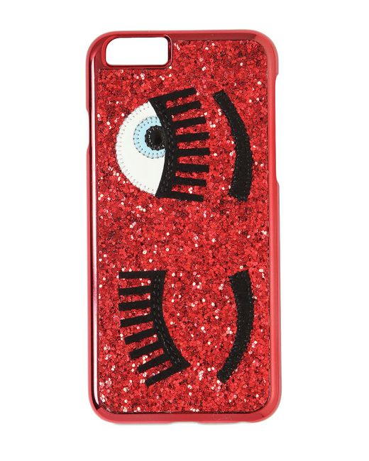 Chiara Ferragni | Black Flirting Iphone 6 / 6s Case | Lyst