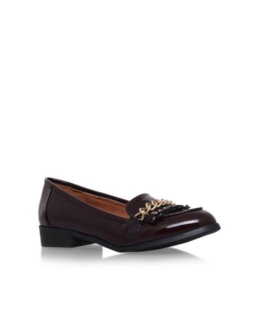 Miss Kg | Brown Miller Slip On Loafers | Lyst