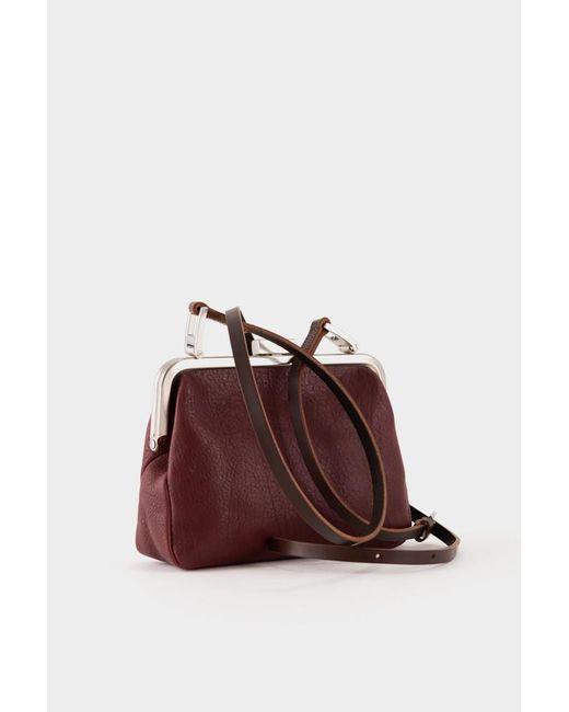 cca8fec1dd6b ... Ally Capellino - Multicolor Fox Calvert Leather Frame Bag Small - Plum  - Lyst ...